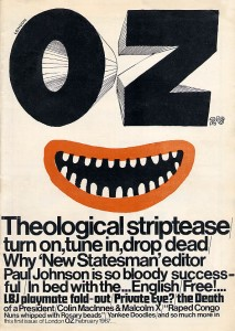 the first issue of OZ