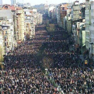 Massive demo against austerity in Portugal September 15th 2012,