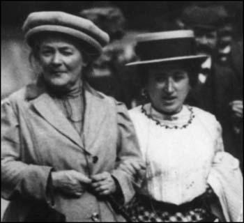 Clara Zetkin and Rosa Luxemburg