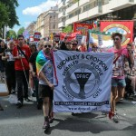 Disabled People Against the Cuts at pride 2015