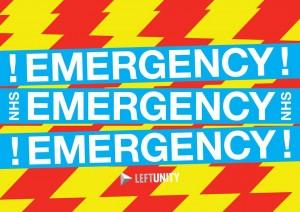 NHSemergency placard